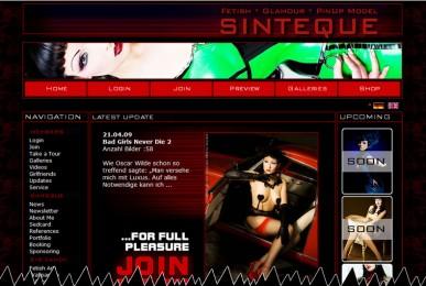 New Sinteque Website Online
